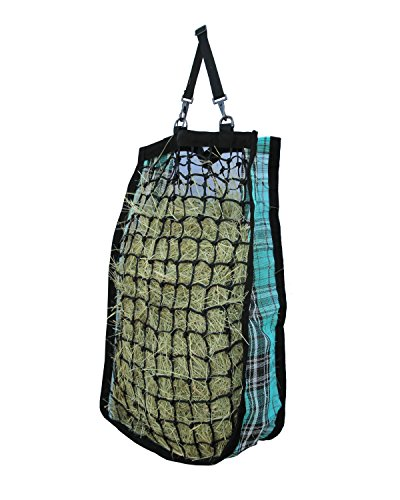 Kensington Slow Feed Mesh Net Feeder for Horses - Designed to Hold Two Large Flakes - Reduce Horse Feeding Anxiety and Behavioral Issues