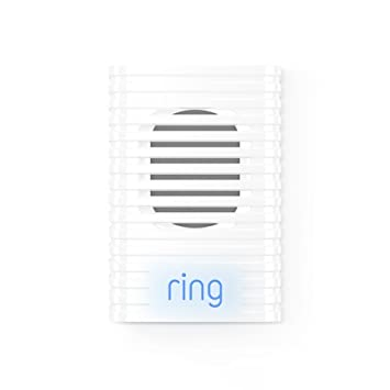 Ring Wi-Fi Enabled Chime Door Chimes & Bells at amazon