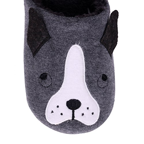 Kids Hedgehog Indoor For Family Slippers Winter Cute Slippers Home Bedroom Animal Slippers House Cat Penguin Dog Black Dog Fuzzy Aa8FpXwq