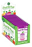 #3: Passion Fruit Guava Chia Fruit Snack -All Natural, Handmade Fruit Leather Flats -No Added Sugars, Preservatives or Artificial Flavors -High Fiber, Low Calorie -12 packs -by Fruit-a-Peel
