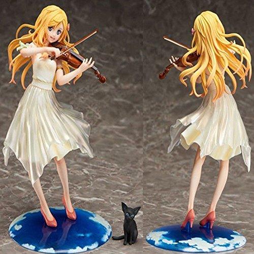 Anime Your Lie in April Kaori Miyazono Dress Ver. 1/8 PVC Figure New In (Dress Ver Pvc Figure)