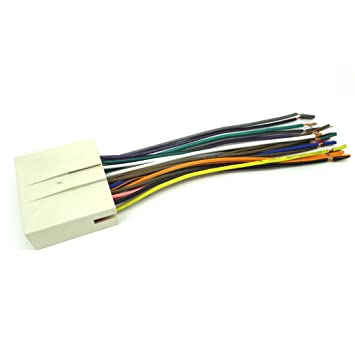 51XI7kS47fL._SY355_ amazon com conpus ford car stereo cd player wiring harness wire 2006 Lincoln Zephyr Interior at virtualis.co