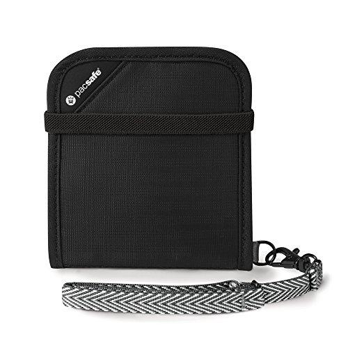 pacsafe-rfidsafe-v100-anti-theft-rfid-blocking-bi-fold-wallet-black