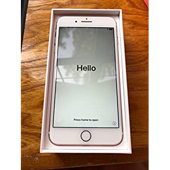 Amazon Com Apple Iphone 7 Plus 32gb Rose Gold Lte Cellular At T