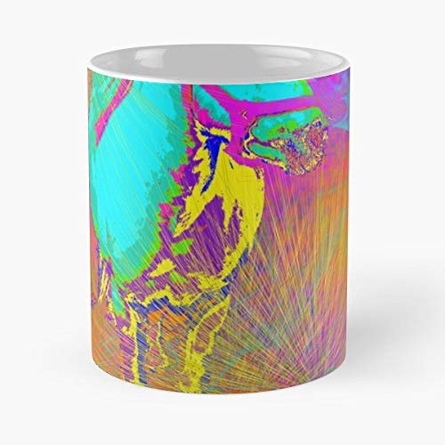 Colour Pony Serigraph Color - 11 Oz Coffee Mugs Ceramic,the Best Gift For Holidays.