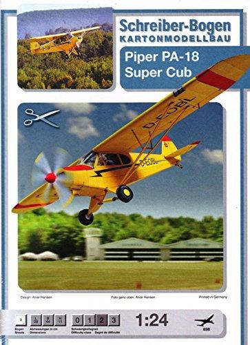 Aue Verlag Schreiber-Bogen Card Modelling Piper Super Club 1:24