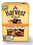 Health & Personal Care : Atkins Harvest Trail Bars, Dark Chocolate Peanut Butter, Gluten Free, 5 Count