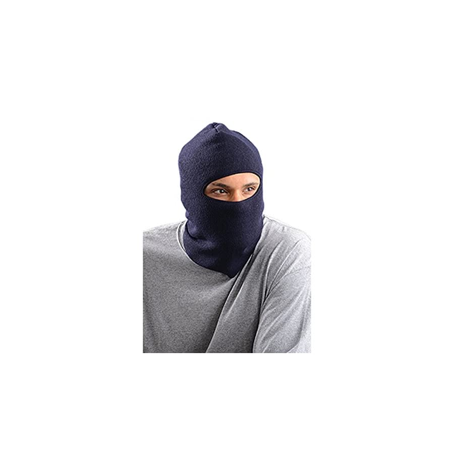Stay Warm Lined, Insulated Face Mask Navy Made in the USA EACH