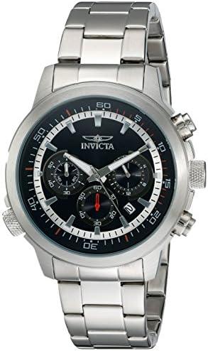 Invicta Men s 19237 Specialty Analog-Display Japanese Quartz Silver-Tone Watch