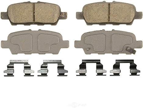 Nakamoto Front /& Rear Ceramic Brake Pad Set For Nissan Maxima Sentra Infiniti