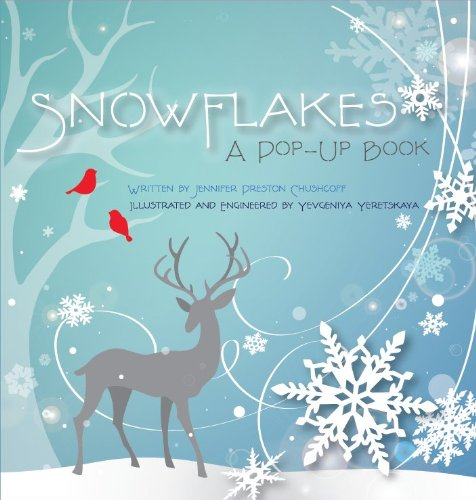 snowflakes a pop up winter book for kids
