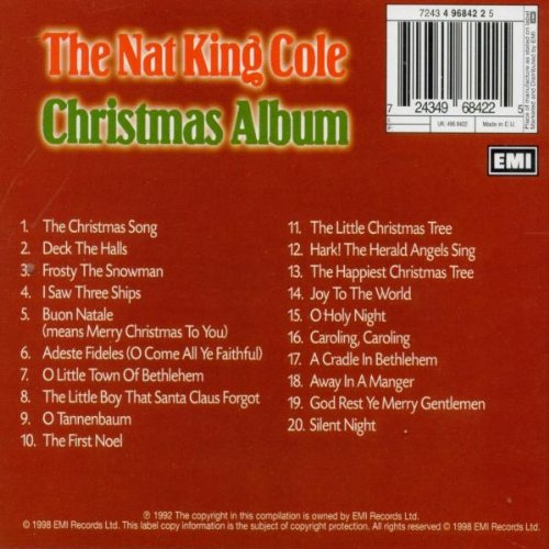 Nat King Cole - The Nat King Cole Christmas Album - Amazon.com Music