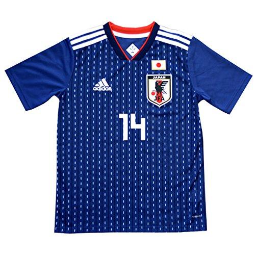 アディダス サッカー日本代表 2018 ホーム レプリカユニフォーム 半袖 KIDS 14.乾貴士 br3644 B0776WXSY2 140