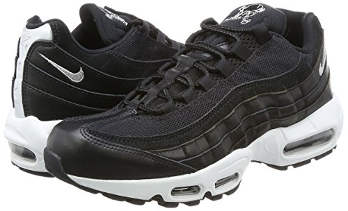 Nike Black 95 Scarpe White off Max Air chrome black uomo nbsp;Prm Nero Nero 8wr8S4