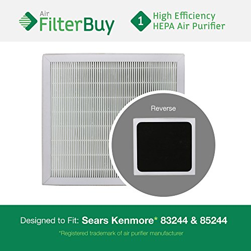 83159 Sears HEPA Filter - AFB HEPA. Fits Sears Kenmore air cleaner models 83244 and 85244. Designed by AFB in the USA.