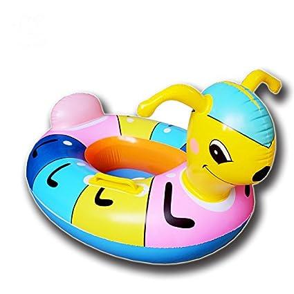 APig flotador bebes de hormiga con asiento y apoyobrazos dimension interior 30cm,dimension exterior 65cm