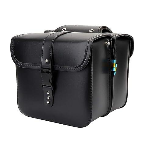 82b71e745e10 Amazon.com  Motorcycle Saddle Bag 1 Pair Saddlebags Tool Bag PU ...