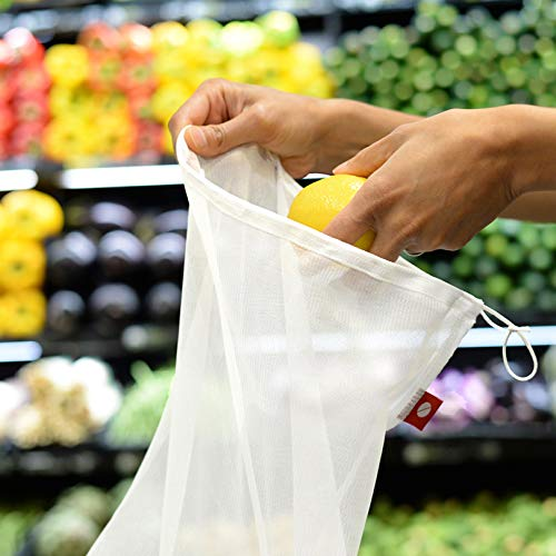 Reusable Produce Bags – Eco Green bags for Fruits and Veggies by flip & tumble (Image #2)