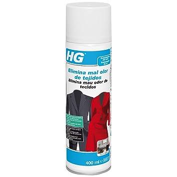 HG 429040130 - elimina mal olor de tejidos 400 ml (envase de 400 ml): Amazon.es: Salud y cuidado personal