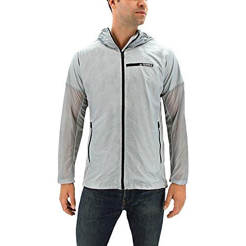 Cheap Adidas Sport Performance Men's Terrex Agravic Alpha Hooded Shield Windbreaker Jacket supplier