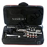 Nasir Ali Piccolo Trumpet Bb Pitch Nickel