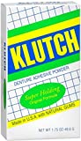 Klutch Denture Adhesive Powder Super Hold 1.75 oz (Pack of 4)