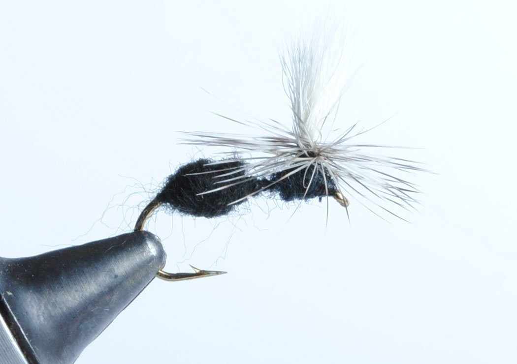 6-Pack Blue Wing Olive Parachute Ant Dry Fly