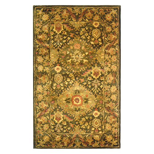 Traditional Rug - Antiquity Wool Pile -Olive Olive/Traditional/5'LX3'W/Rectangle