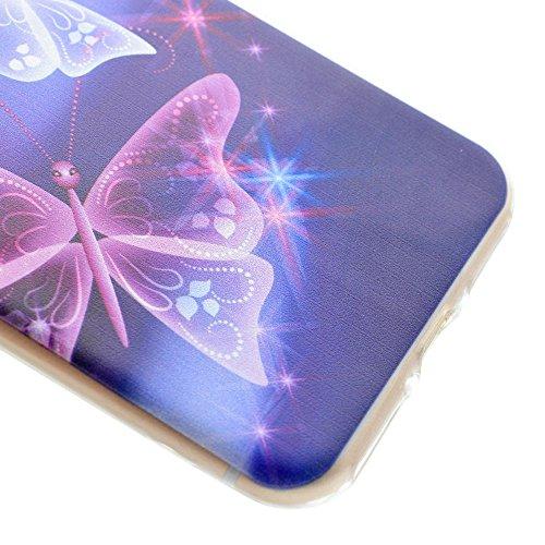 "HYAIT® For IPHONE 7 PLUS 5.5"" [XXG 17V1]Scratch-Proof Ultra Thin Rubber Gel TPU Soft Silicone Bumper Case Cover -BKI06"