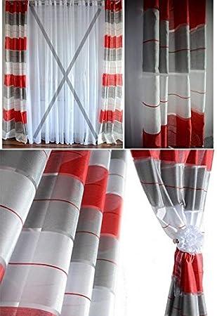 vorh nge grau rot lilashouse. Black Bedroom Furniture Sets. Home Design Ideas
