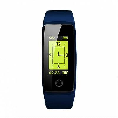Montre de Fitness Bracelet Intelligent Tracker d'Activité avec Compteur de Pas, Calorie, Distance, Sommeil,Notification, Alarme Montre Intelligente Connectée Podomètre Alertes Appel SMS,Compatible Avec Sm