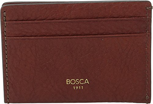 Bosca Men's Washed Collection - Weekend Wallet Cognac Coi...