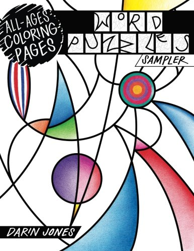 All-Ages Coloring Pages: Word Puzzles Sampler