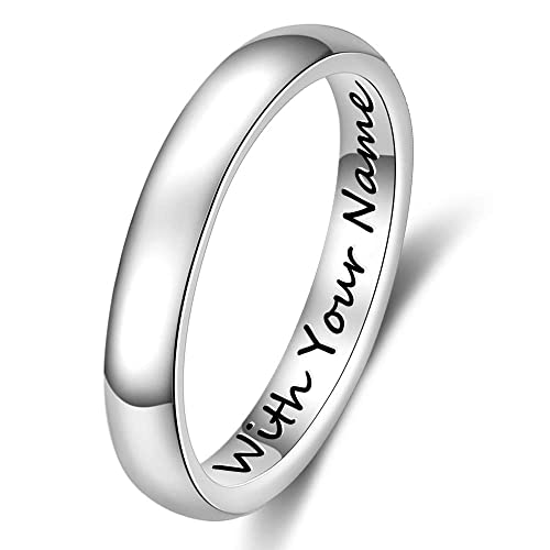 Anillo Personalizable color plata unisex