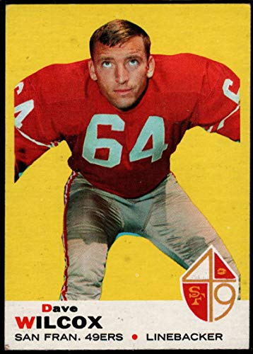 Football NFL 1969 Topps #44 Dave Wilcox 49ers