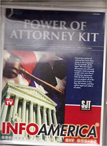 Power of attorney kit do it yourself timothy j smith power of attorney kit do it yourself solutioingenieria Choice Image