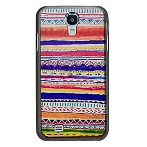 MOFY-Brillante-coloreada del patr—n duro para Samsung i9500 Galaxy S4
