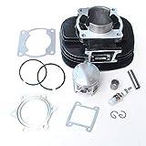 Cylinder Piston Gasket Top End Rebuild Kit for 88-06 Yamaha Blaster 200