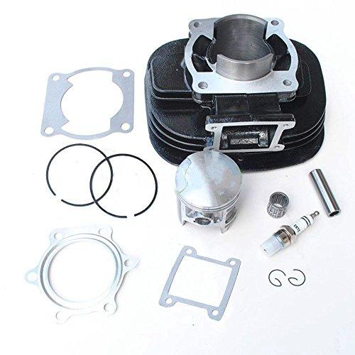Cylinder Piston Gasket Top End Rebuild Kit for 88-06 Yamaha Blaster (Piston Rebuild Kit)