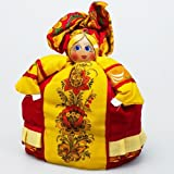 "Tea Cozy Doll ""Khokhloma"