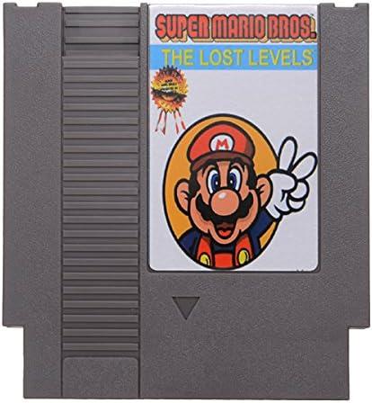 Super Mario Bros 2 The Lost Levels 72 Pin 8 Bit Game Card Cartridge For Nes Nintendo Amazon Ca Electronics