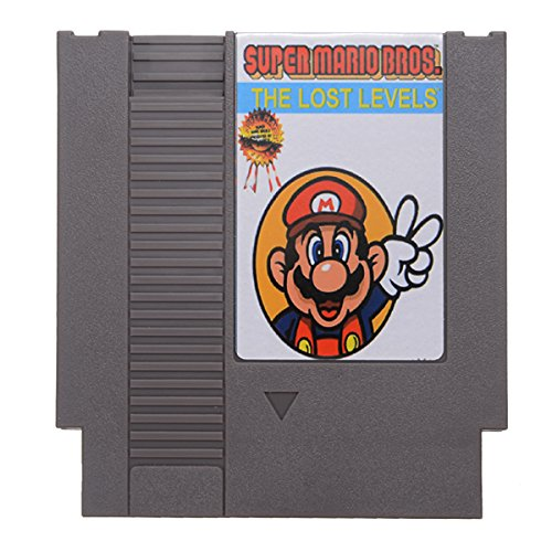 Super Mario Bros. 2 - The Lost Levels 72 Pin 8 Bit Game Card Cartridge for NES Nintendo (Super Mario Bros 2 The Lost Levels)