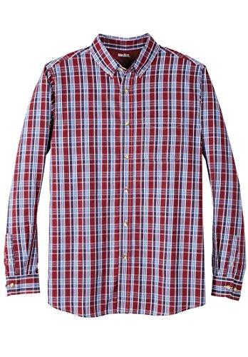 KingSize Mens Big /& Tall Wrinkle Resistant Long-Sleeve Sport Shirt