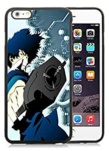 Beautiful DIY Designed With Spike Vector Cover Case For iPhone 6 Plus 5.5 Inch Black Phone Case CR-590