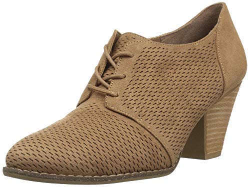 Dr. Scholl's Shoes Women's Credit Ankle Boot, Toasted Coconut Microfiber, 9.5 M US