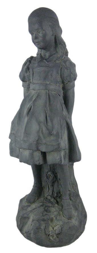 Things2die4 Resin Outdoor Statues `Alice In Wonderland` Garden / Patio  Statue Carroll 7 X