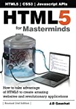 HTML5 for Masterminds, 2nd Edition, J. Gauchat, 1481138502