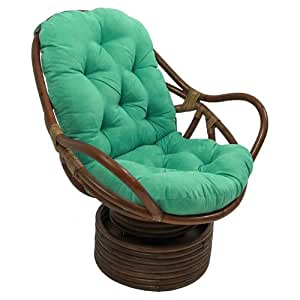 International Caravan 3310 MS EM IC Furniture Piece Rattan Swivel Rocker  With Micro