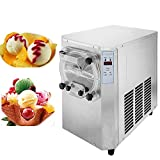 Happybuy Hard Ice Cream Machine 15-22L/H Food Grade 304 Stainless Steel Ice Cream Machine 1500W Commercial Ice Cream Maker Great for Recreation Center Churches and Camps