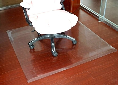 Home Cal Chair or table mats for Hardwood Floor Protection, Rectangular and Transparent,Multi-sizes (35''x35'') 1/12''thickness